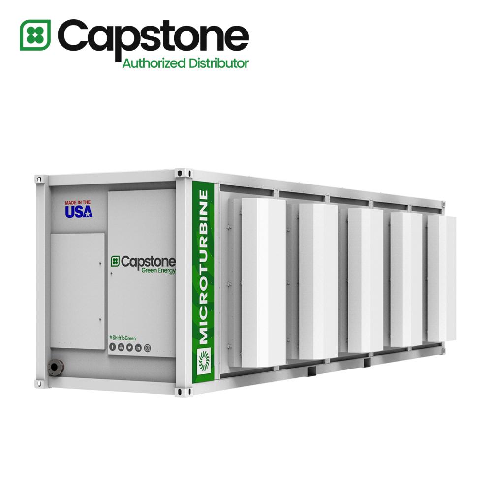 Capstone Green Energy_C1000s microturbine