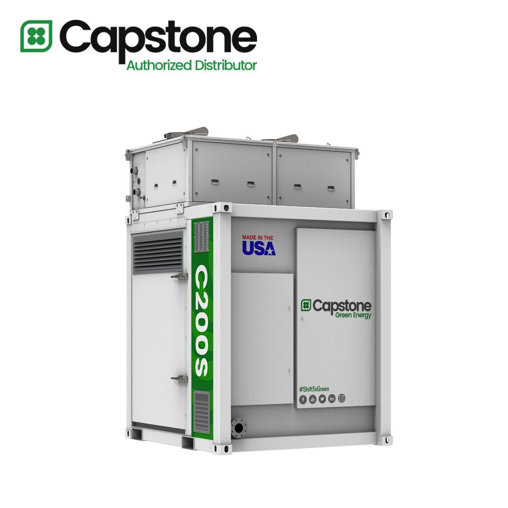 Capstone Green Energy_C200s microturbine
