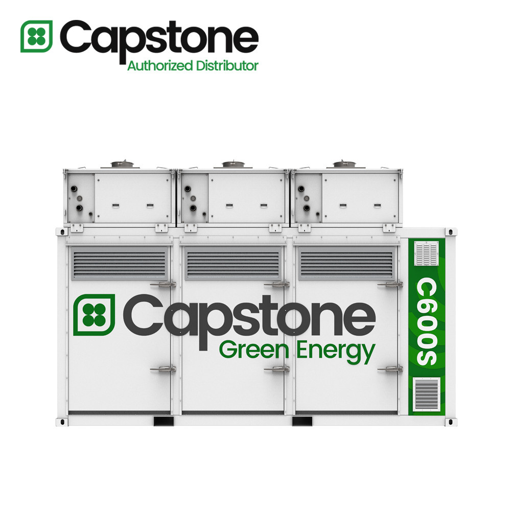 Capstone Green Energy_C600s microturbine
