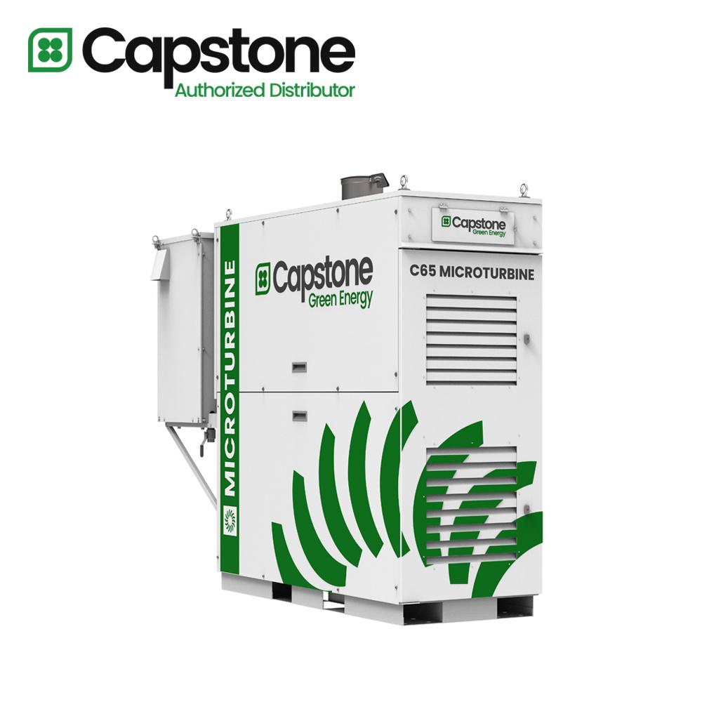 Capstone Green Energy_C65 microturbine