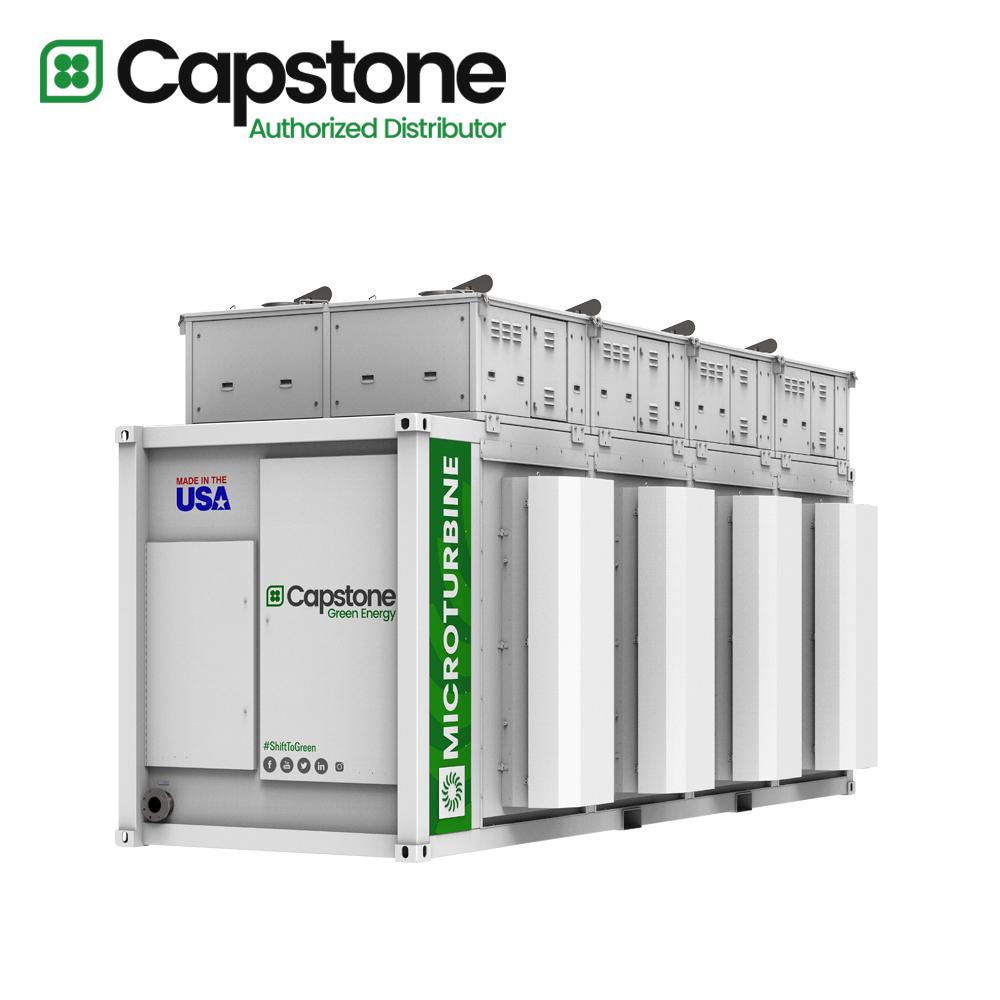 Capstone Green Energy_C800s microturbine