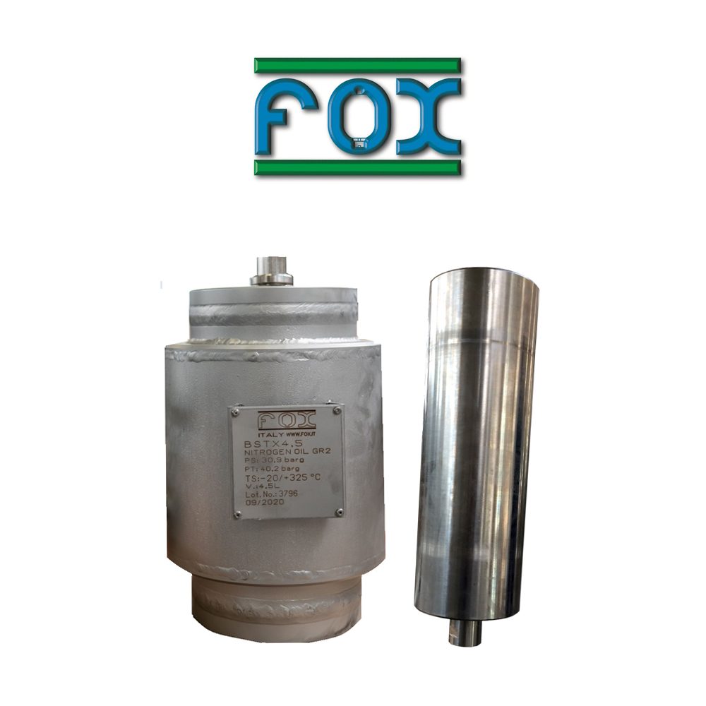 FOX S.R.L. Pulsation dampeners