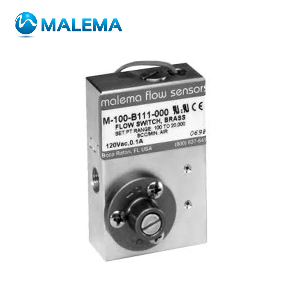 MALEMA M-100X SERIES EX-PROOF ADJUSTABLE FLOW SWITCHES