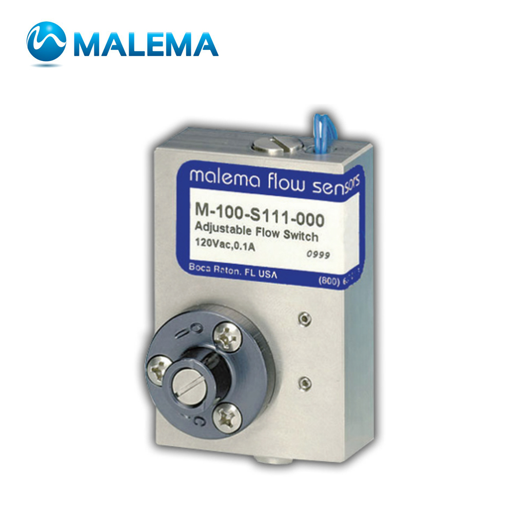 M-100 SERIES ADJUSTABLE FLOW SWITCHES