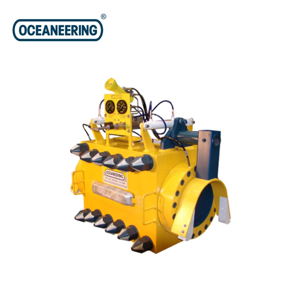 DIVERLESS SMART CLAMP - PERMANENT PIPELINE REPAIR CLAMP BY Oceaneering
