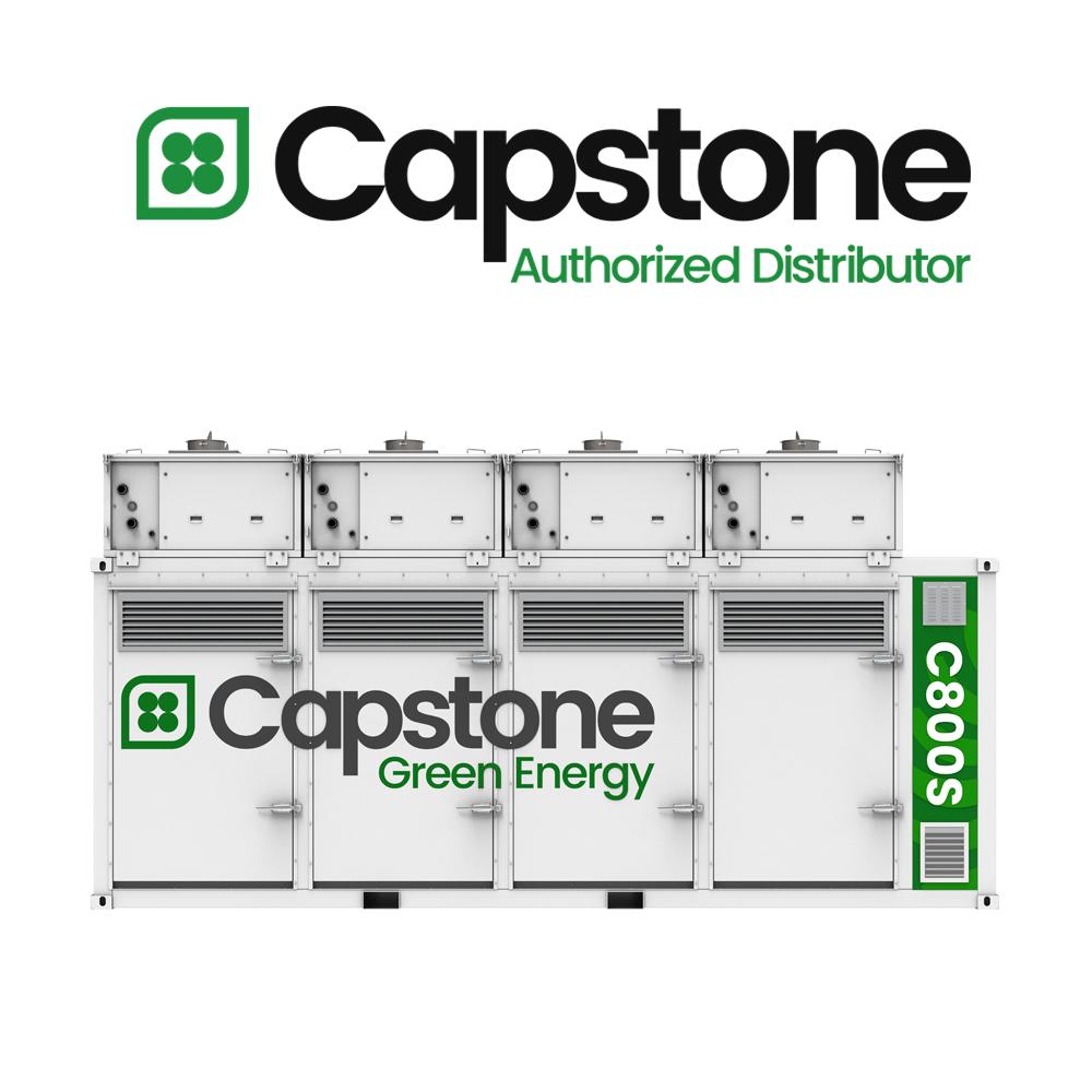 capstone green energy_microturbines