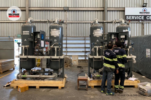 Air Comp  Air Dryer Modification Atlas 4