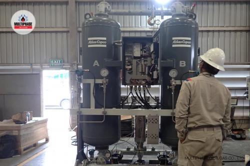 Air Comp  Air Dryer Modification Atlas 9
