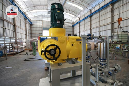 Chevron Centrifuge Sludge Pump 15